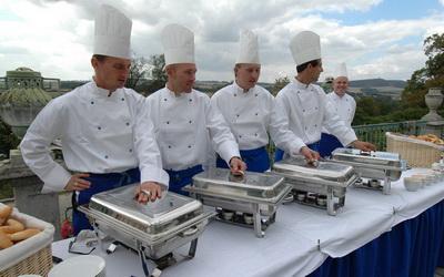 Klasický catering