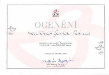 Zobrazit ocenění IGC
